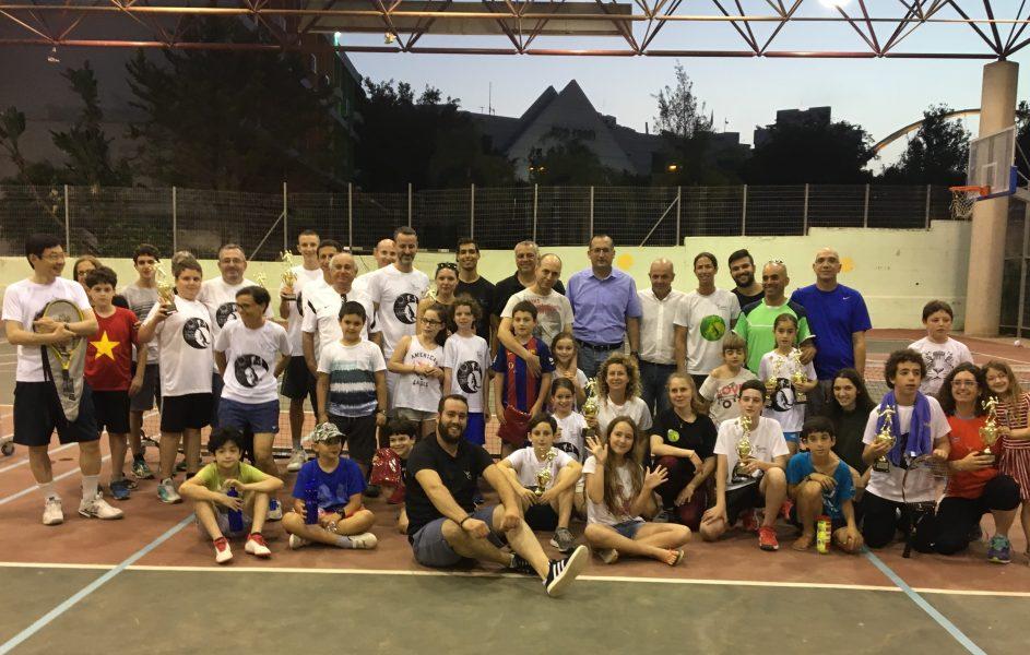 טניס משפחות 2018