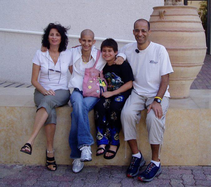 משפחת עמרני לפני הטרגדיה, צילום: פרטי
