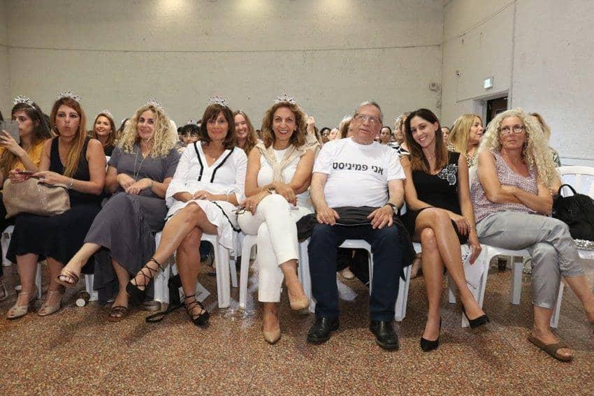 300 נשים ופמיניסט אחד, צילום: דוברות עיריית רמת גן
