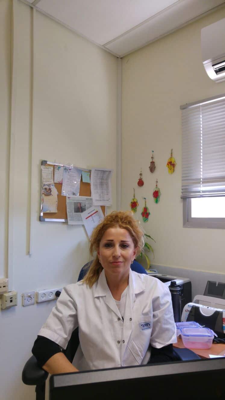"""ד""""ר אירינה סטרחילביץ, צילום: באדיבות דוברות מכבי שירותי בריאות"""