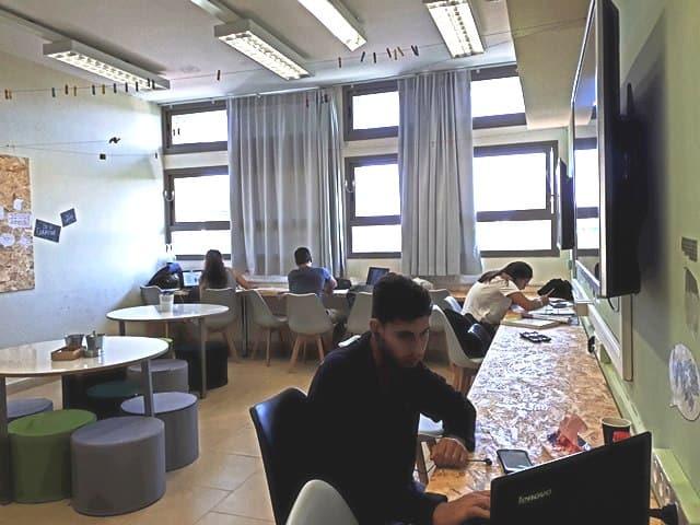 לומדים במרחב הלמידה