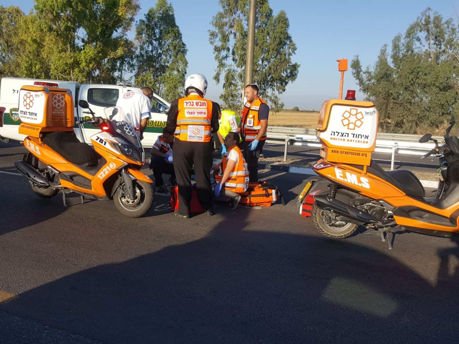מתנדבי איחוד הצלה בפעולה, צילום: באדיבות דוברות איחוד הצלה