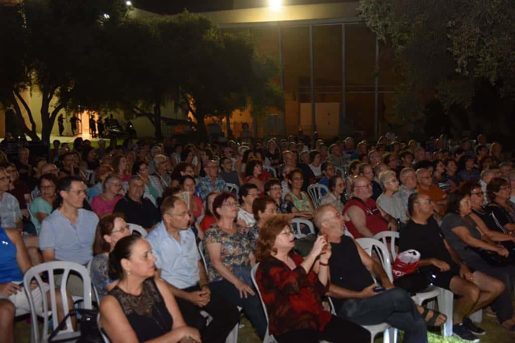 הקהל זוכר את הלהיטים הגדולים, צילום: באדיבות דוברות עיריית גבעתיים