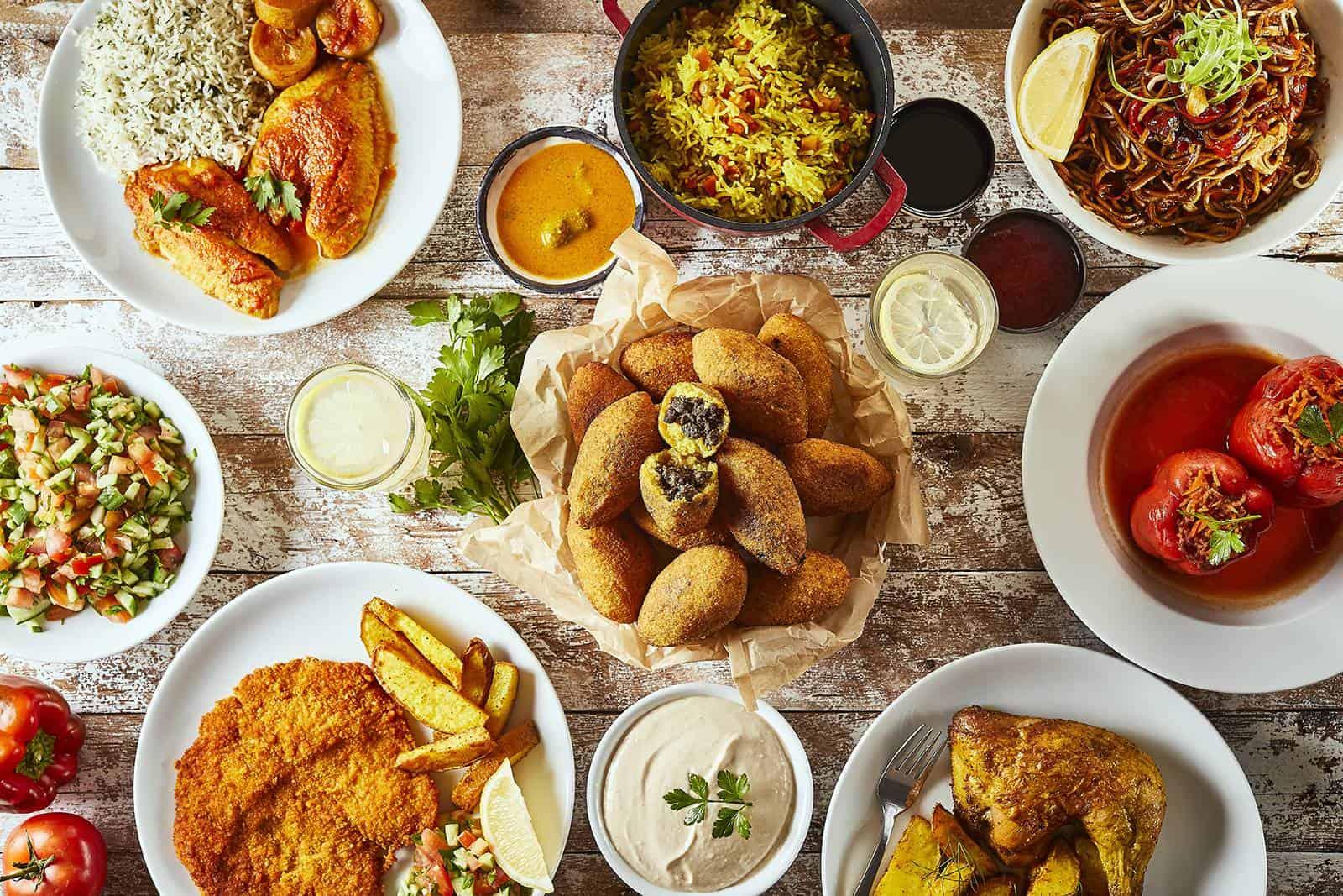 אוכל מנחם במסעדת טעמאמא, צילום: אפיק גבאי